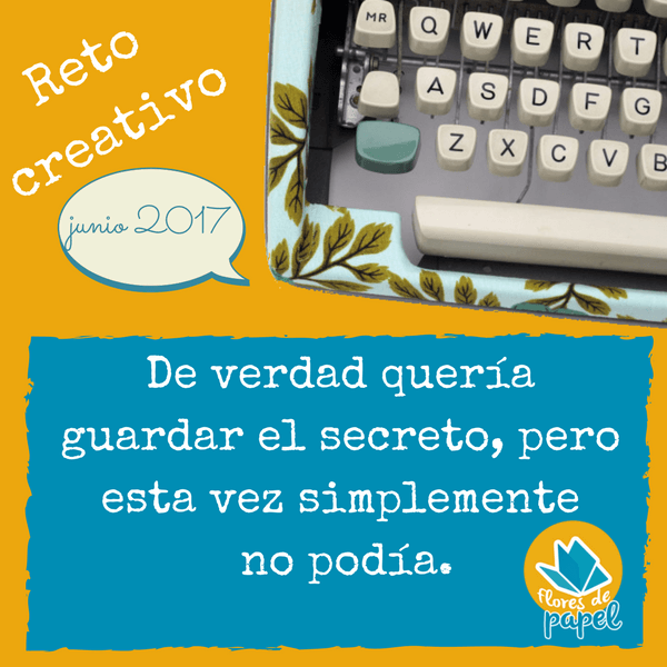 Reto creativo: junio 2017